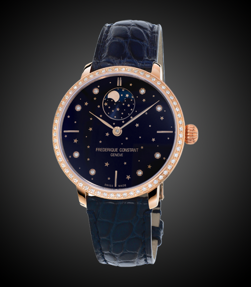 Slimline Moonphase Stars Manufacture, Frederique Constant, 332 210 руб.
