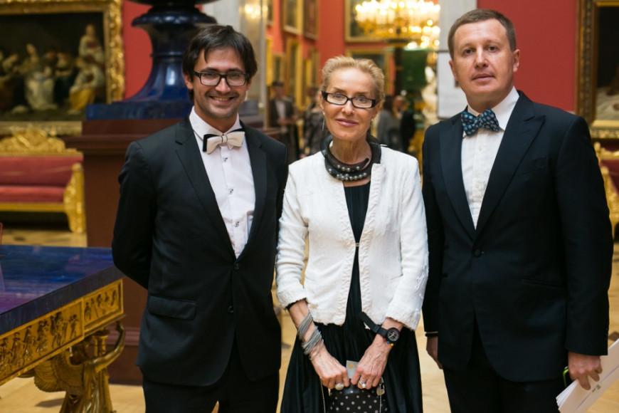 Дмитрий Озерков, Ольга Свиблова и Максим Арцинович