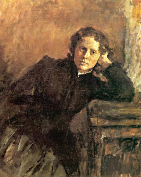 В. Серов «Портрет О. Трубниковой»
