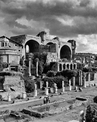 Элио Чиол. Императорский форум. Рим, 1955