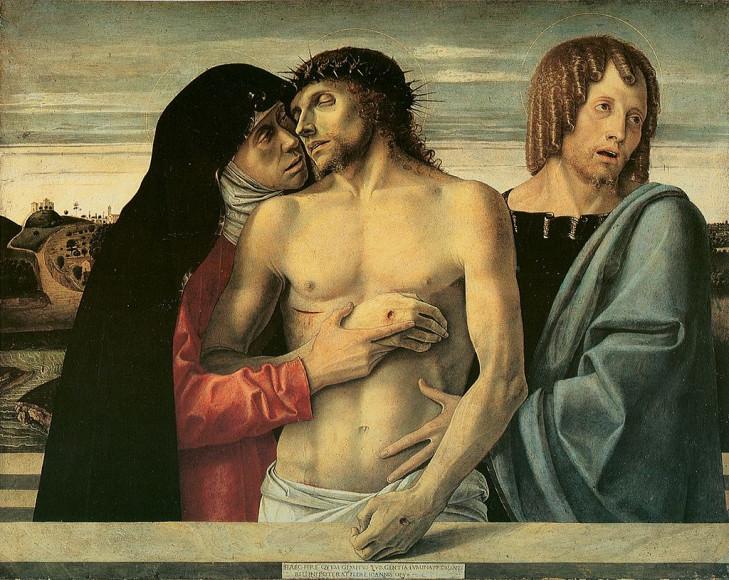 Беллини. «Пьета», 1460