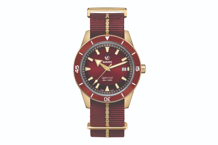 Часы Captain Cook Burgundy, Rado
