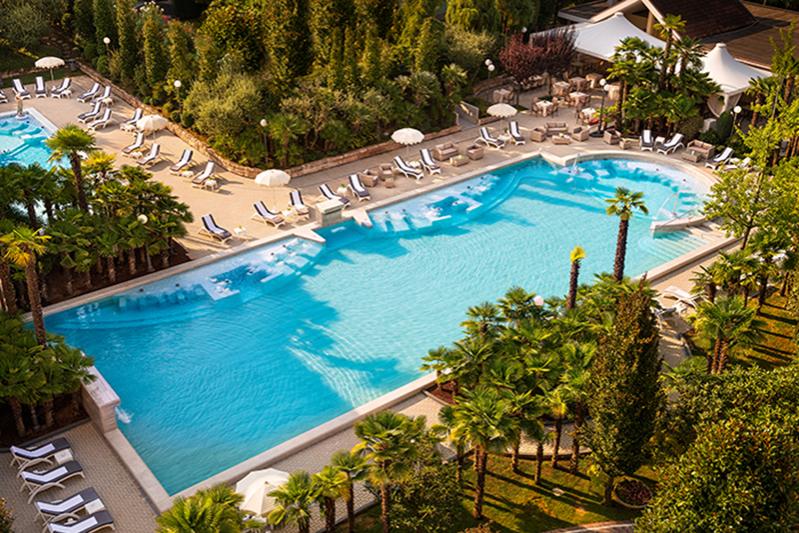 Бассейн Abano Grand Hotel