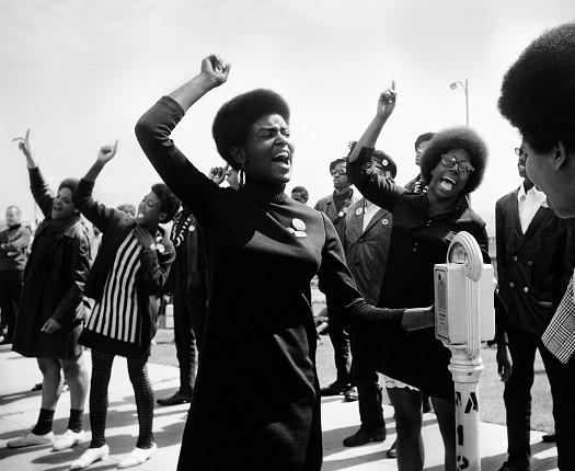 Аньес Варда. «Черные пантеры». Демонстрация в Окленде, 1968