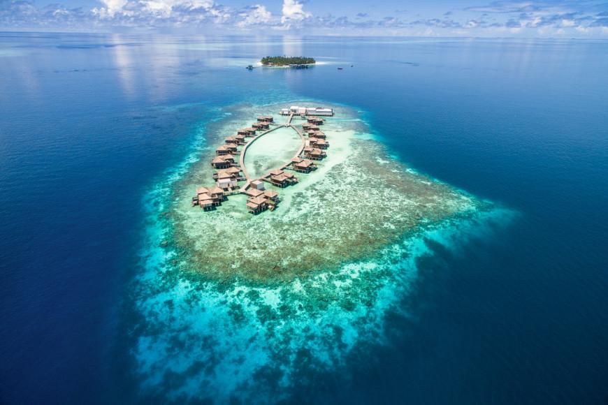 Остров Мерадху в атолле Гаафу-Алиф