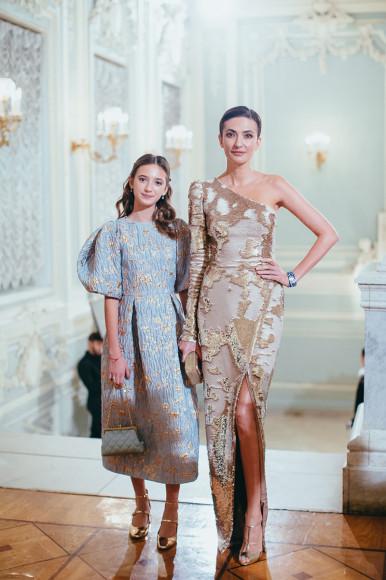 Снежана Георгиева с дочерью