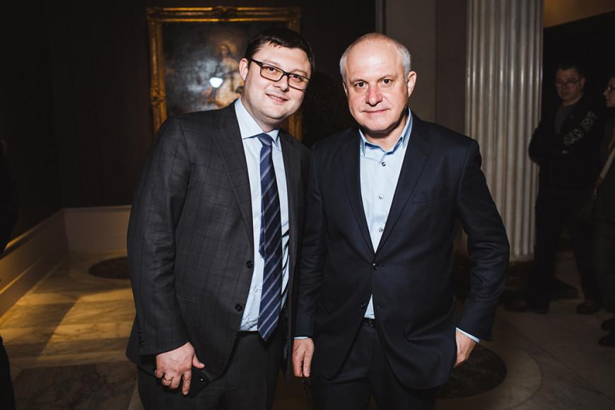 Василий Церетели и Леонид Огарев