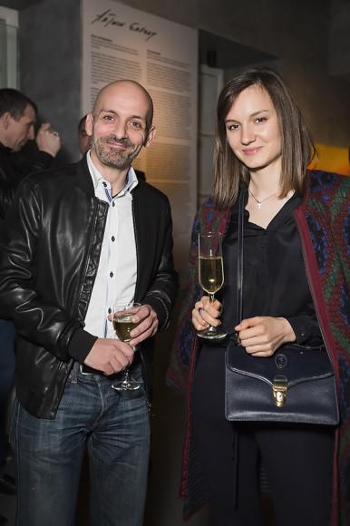 Кристофер Брико, Юлия Гончарук (Торговая миссия посольства Франции)