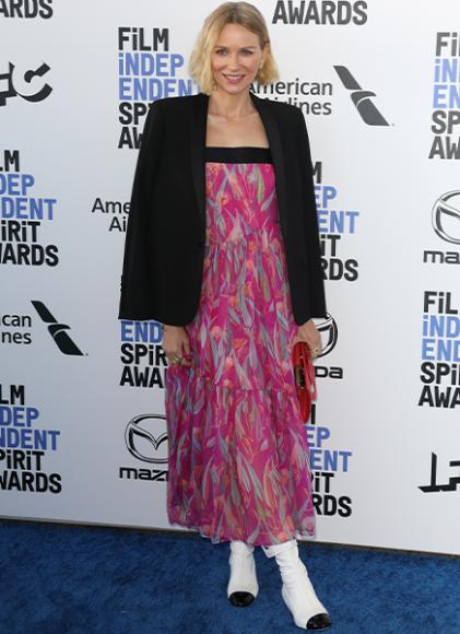 Наоми Уоттс в платье Chanel на церемонии Independent Spirit Awards