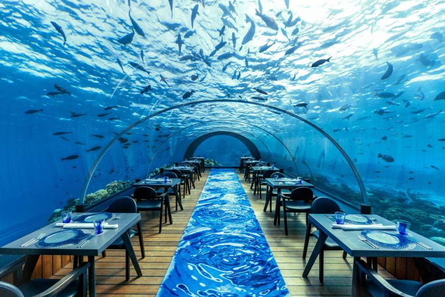 Подводный ресторан 5.8