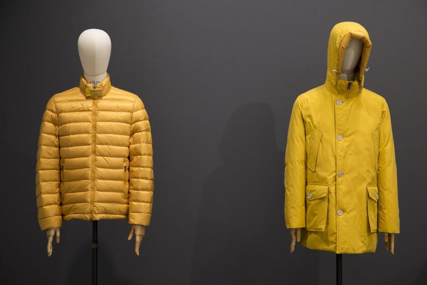 Экологичная коллекция Woolrich, представленная на Pitti Uomo в январе