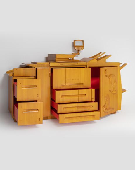 Офисная мебель Balenciaga, созданная Гарри Нуриевым