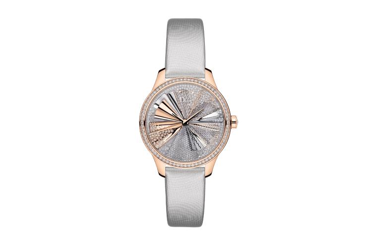 Часы Dior Grand Soir Plisse Precieux, Dior Horlogerie
