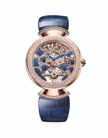 Часы Divas' Dream Peacock Tourbillon Lumière, Bvlgari
