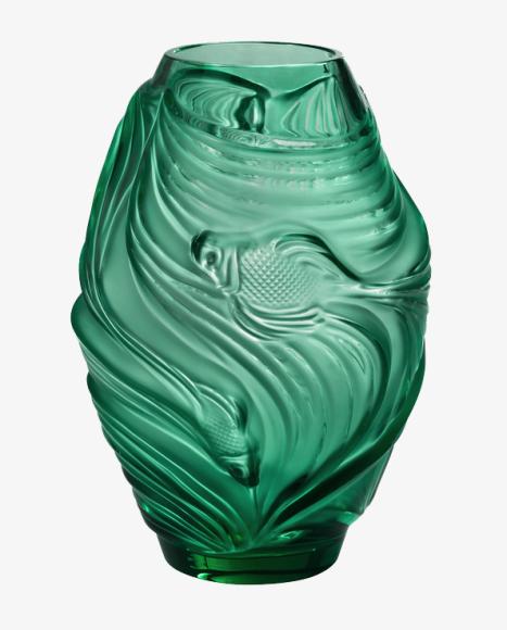 Ваза Poissons Combattants, Lalique, 381 000 руб.