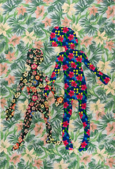 Маша Обухова, «Силуэт #2», проект «Повелители мух», 2019
