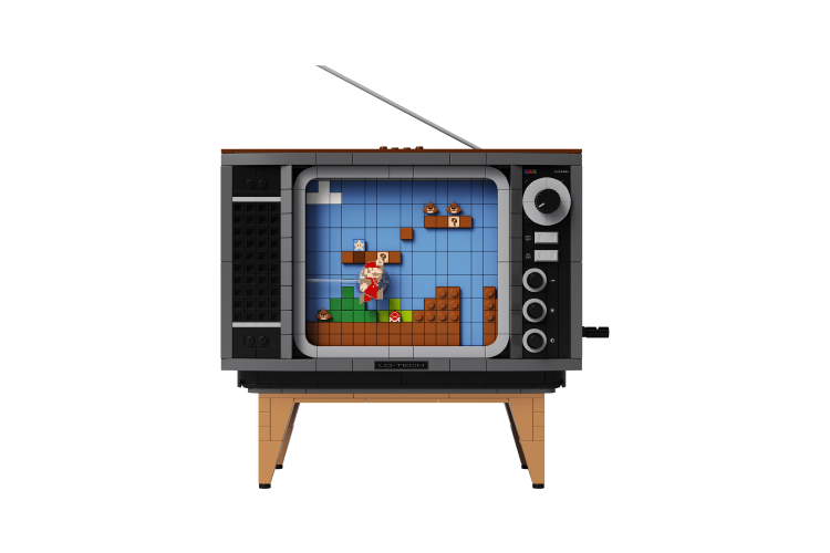 Набор Lego с приставкой Nintendo Entertainment System