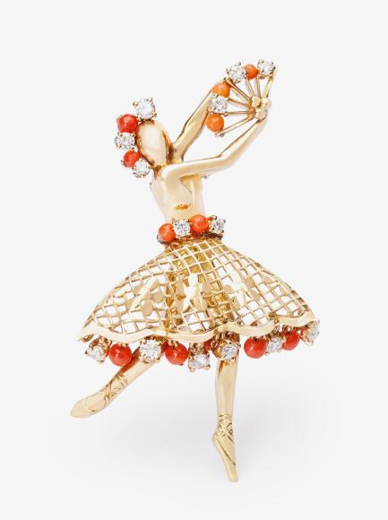 Брошь Ballerina, Van Cleef & Arpels