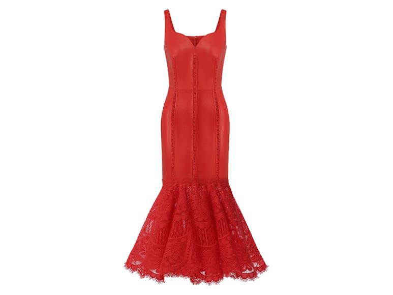 Платье Alexander McQueen, 433 500 руб. (Третьяковский проезд)