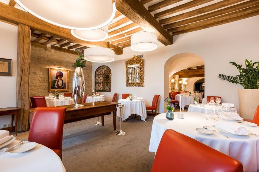 Ресторан «Maison Lameloise», Шани, Франци