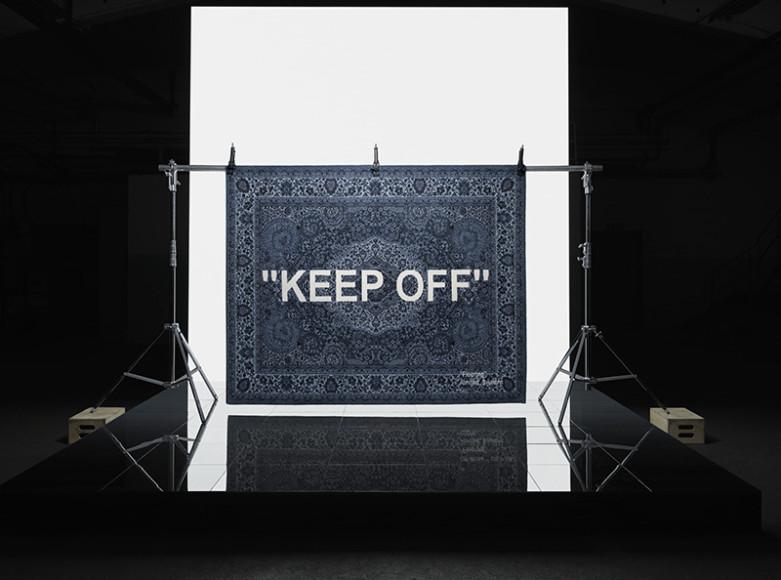 Ковер, созданный для IKEA Вирджилом Абло