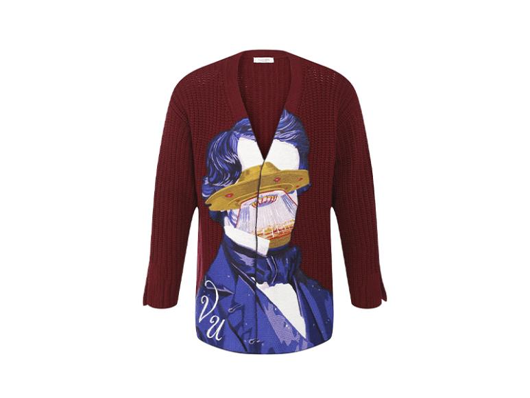 Мужской кардиган Valentino x Undercover, 156500 руб. («Барвиха Luxury Village»)