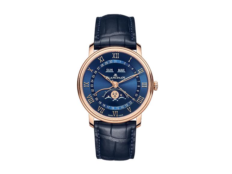 Часы Villeret Quantième Complet, Blancpain