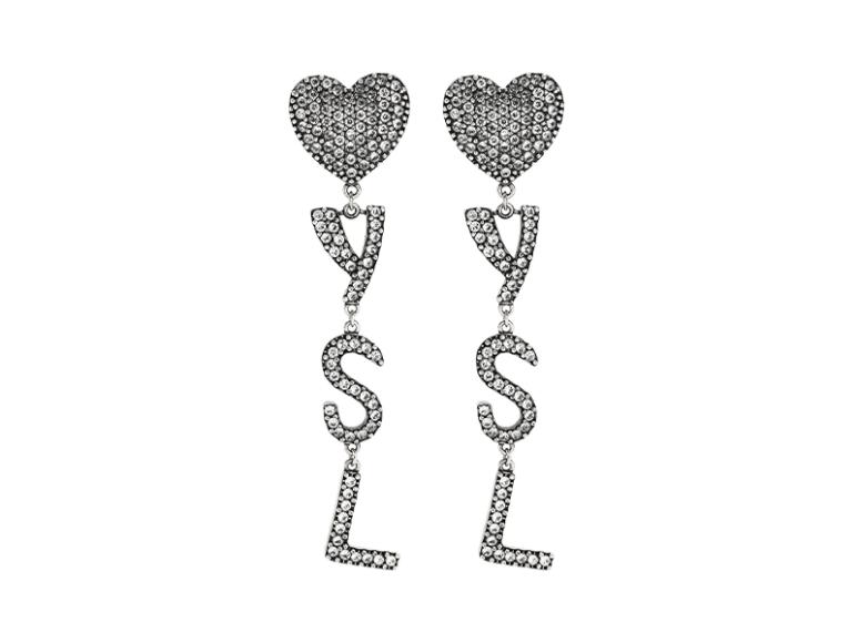 Клипсы Saint Laurent, 47 300 руб. («Барвиха Luxury Village»)