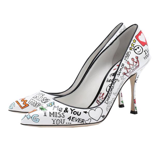 Туфли Lori, Dolce & Gabbana (ЦУМ, Третьяковский проезд) — 58450 руб.