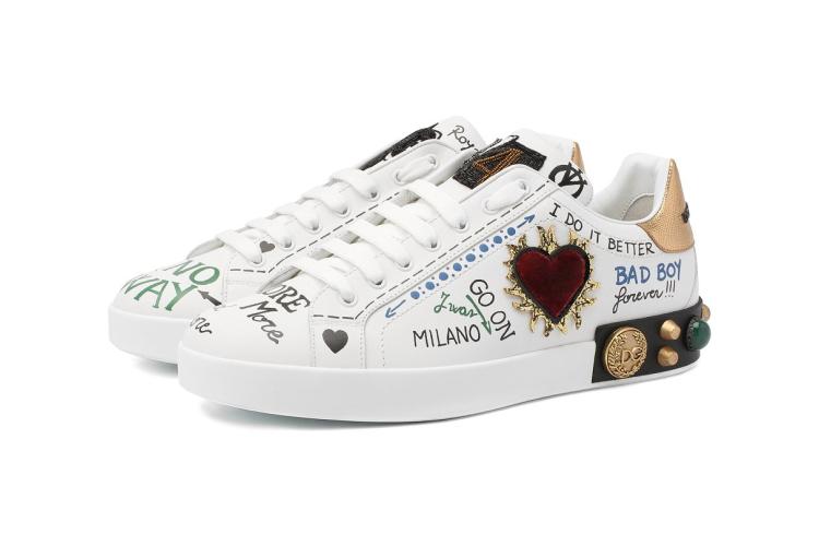 Кеды Dolce & Gabbana, 85850 руб. («Барвиха Luxury Village»)