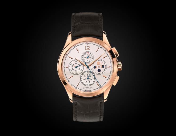 Montblanc Heritage Chronométrie Chronograph Quantième Annuel, Montblanc, розовое золото — ₽ 1 380 000