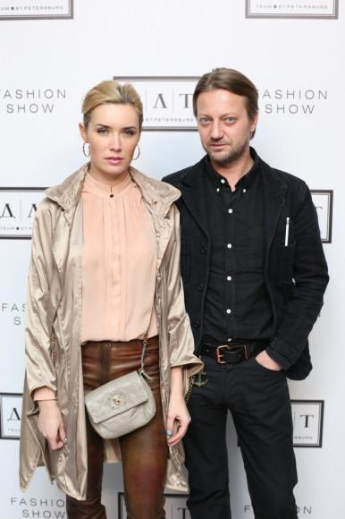 Анастасия Орехова (маркетинговй директор, ресторанная группа Свои в городе) и Николай Меренков (совладелец бутика Code 7)