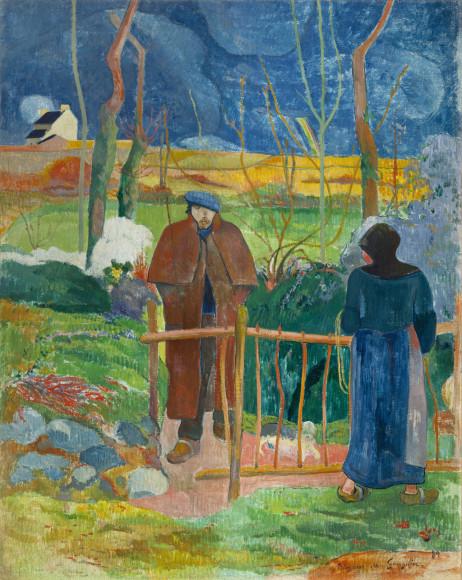 Paul Gauguin, Bonjour Monsieur Gauguin, 1889