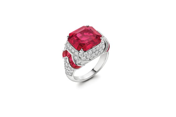 Кольцо Ruby Heartbeat, рубин 10,15 каратов