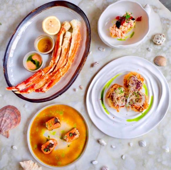 Блюда с камчатским крабом («Рыба моя»)