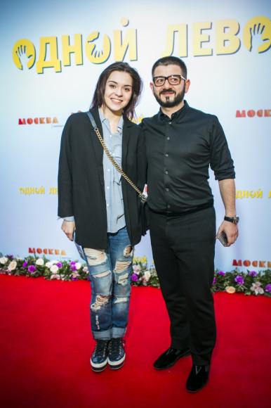 Аделина Сотникова (Олимпийская чемпионка) и Михаил Галустян (актер, продюсер)