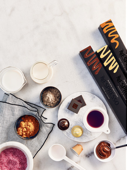 Капсулы Cocoa Truffle, Vanilla Éclair, Caramel Crème Brulée, система Original, Nespresso