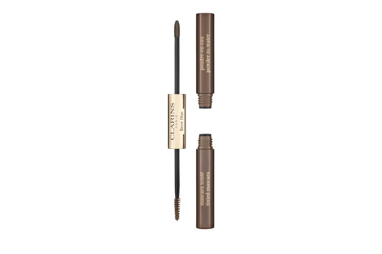 Средство для макияжа и фиксации бровей Brow Duo, Clarins