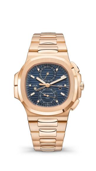Часы Nautilus Travel Time Chronograph, Patek Philippe