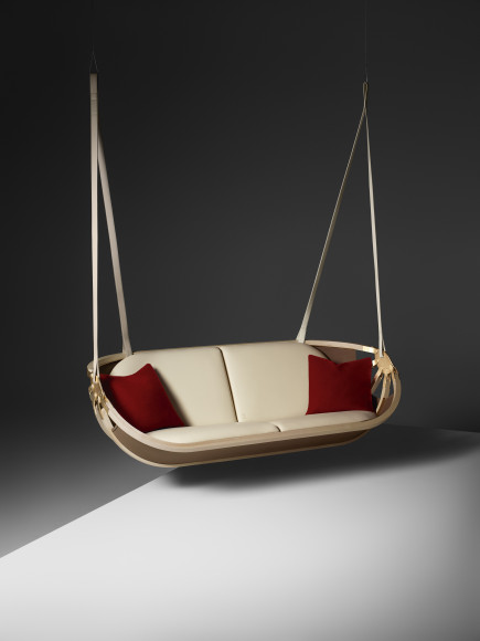 Подвесной диван Swing Boat, Atelier Oï