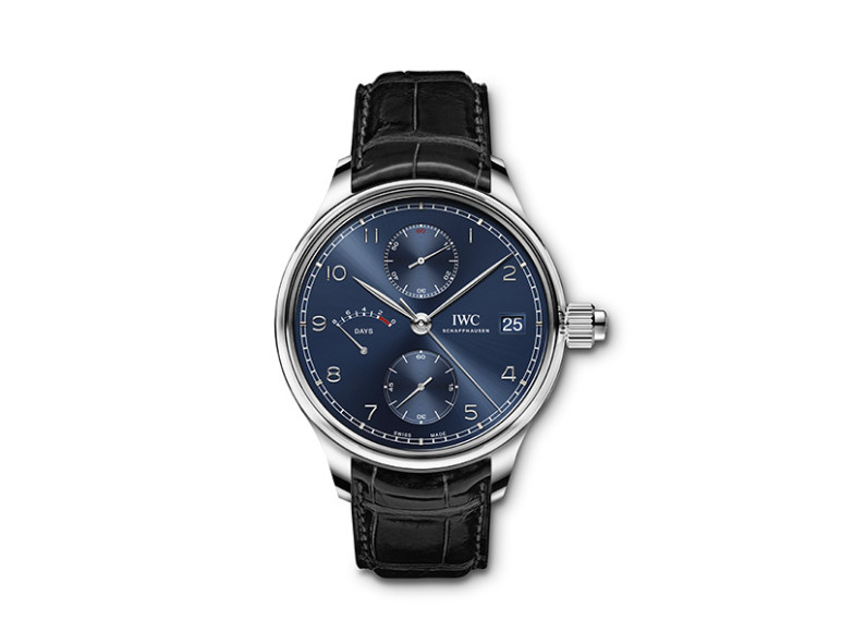 Portugieser Hand-Wound Monopusher Edition «Laureus Sport for Good», IWC