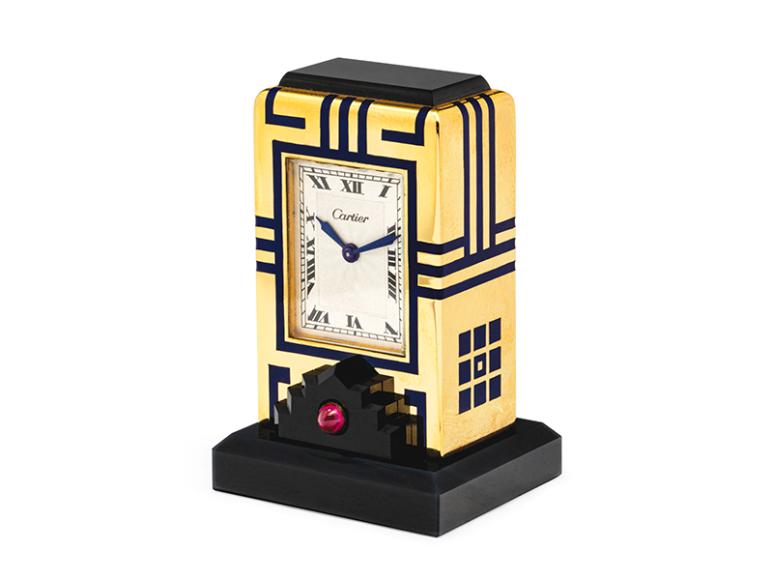 Часы Mignonette в стиле ар-деко, ок.1928 года, эстимейт 15-20 тыс. CHF